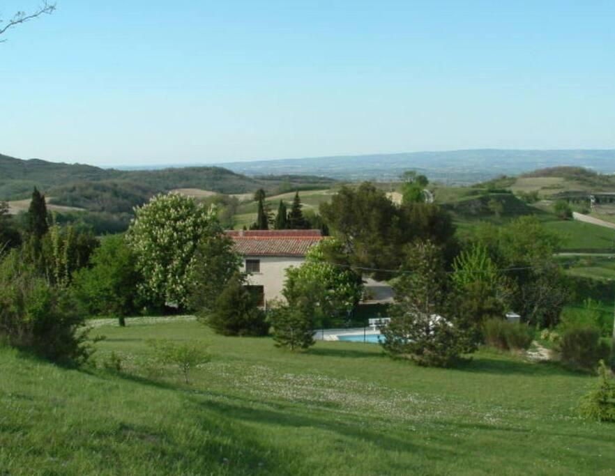 vue panoramique du domaine