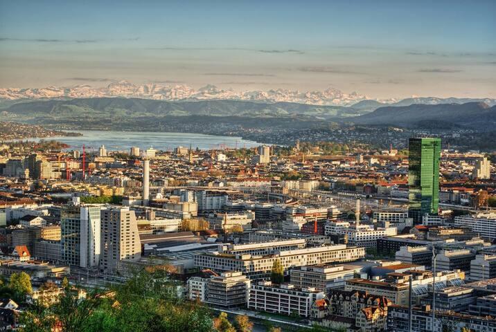 Sehr zentrale Wohnung Zürich Lochergut