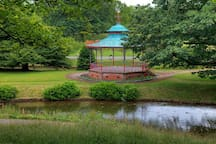 The band stand in the park