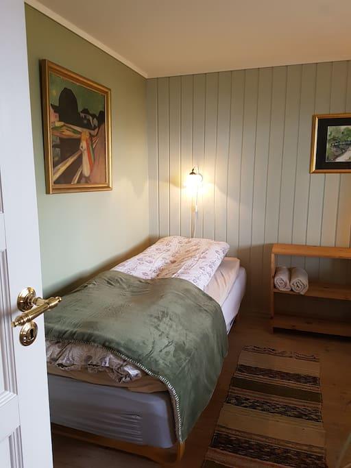 Det grønne rommet m/90x2m seng
