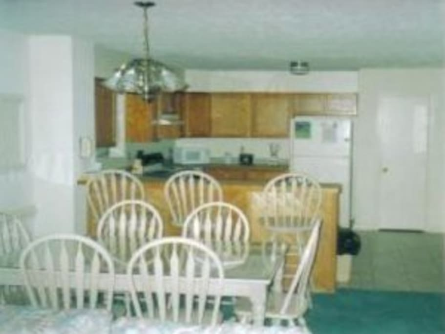 Fully equipped kitchen - dine in or dine out!