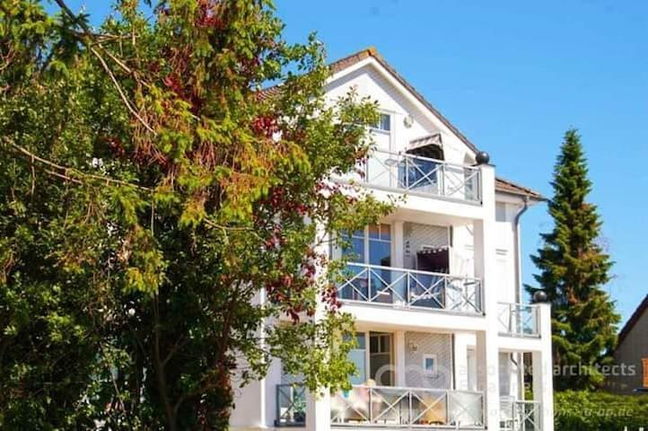 Kl. Wohnung in Groemitz  1-2 Personen, Balkon