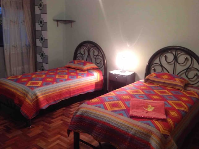 Double room in the heart of  LA PAZ - BOLIVIA