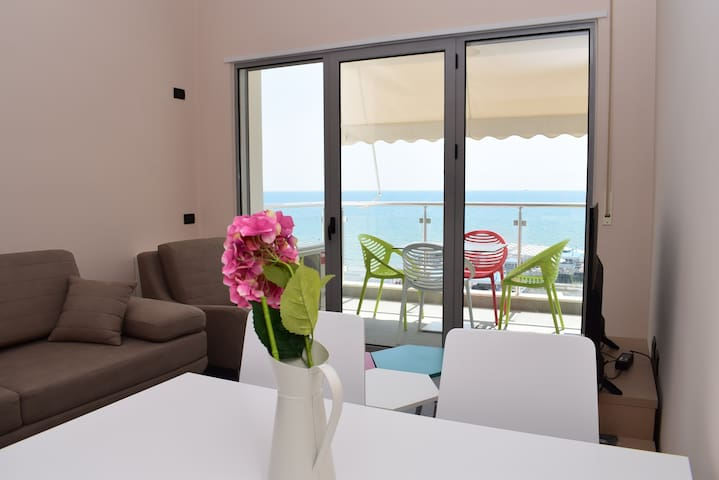 Beach front apartment in Durres - 117