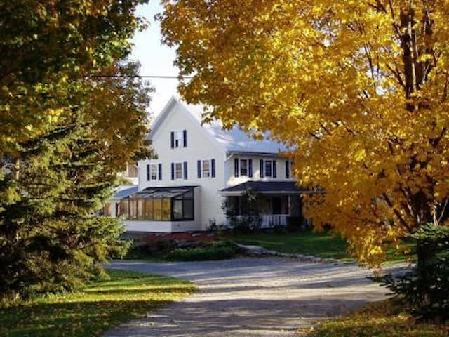 A Vermont Country Inn  -  Blue room - Fairfax - Bed & Breakfast