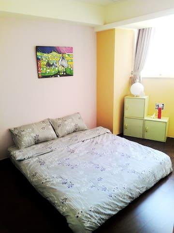 有廚房的雙人房 MRT 5mins, Cozy Room w/Kitchen