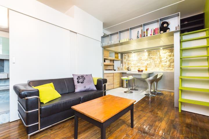 Le Marais cozy flat CITY CENTER