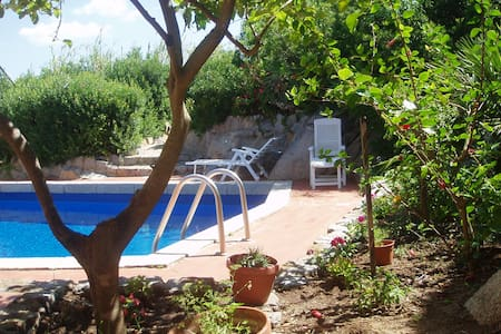 4 houses priv.pool 200m from sea - Notteri