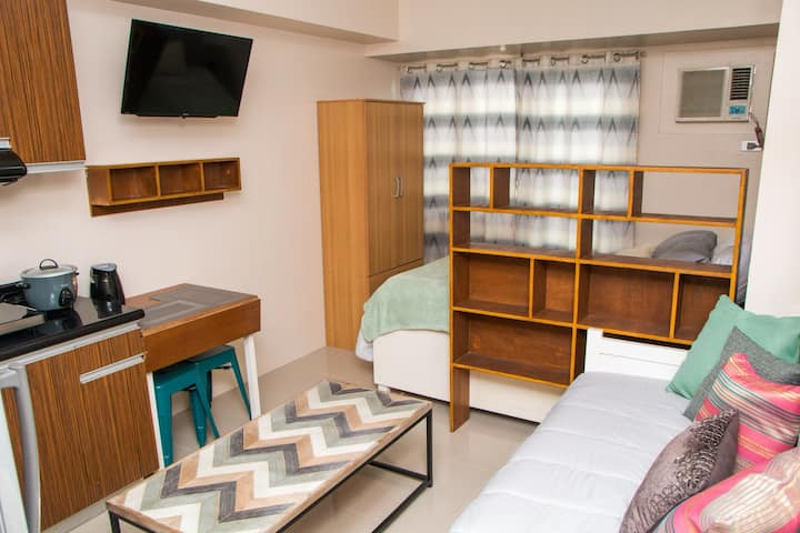 Charming studio unit with Wifi and Smart TV.