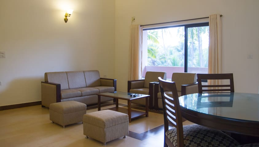Park Walfredo Goa. Beach side 3 BHK Deluxe Apt