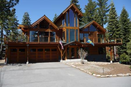 Beautiful 5br/5ba Sunny Lake View Home in N Tahoe