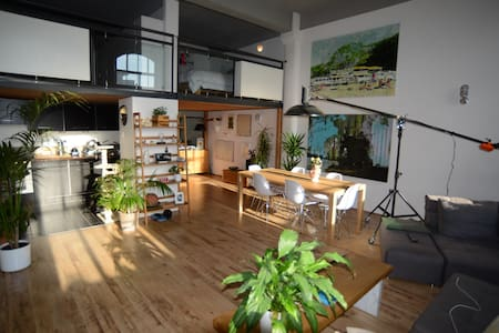Cool loft style apartment in trendy east london - Londra
