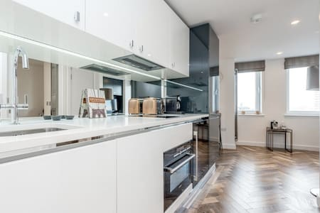 Upscale 1 bed Shoreditch Old Street - Huoneisto