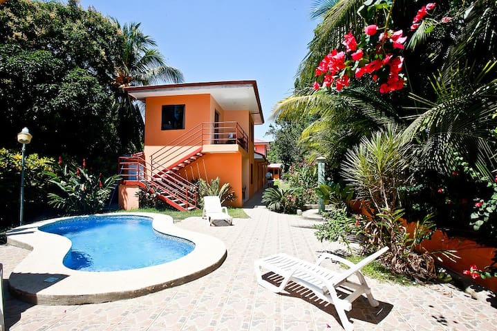 Apartment on the beach of Esterillos Oeste
