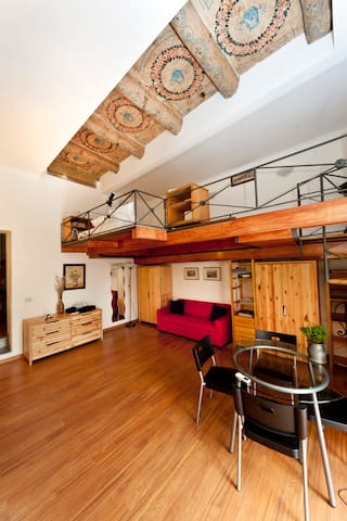 charming apartment and guided tours - Napels - Huis