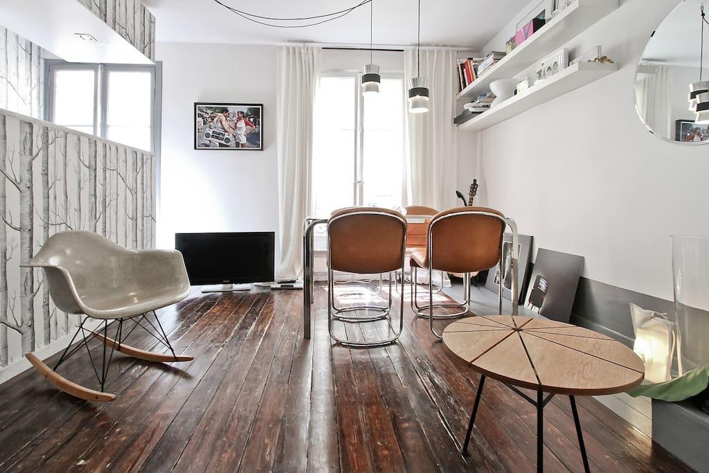 Montorgueil corner close le marais apartments for rent - Magasin deco paris marais ...