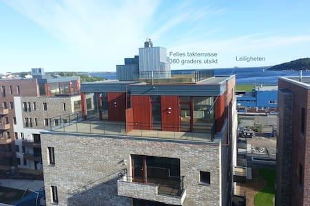 Top level apartment Bystranda Kristiansand - Kristiansand