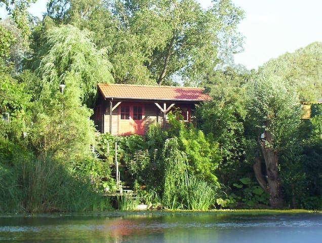 Ertveldsche Hoeve  blokhut-cottage - 's-Hertogenbosch (Den Bosch, A Floresta do Duque)