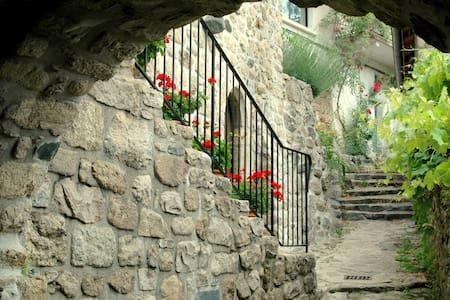 Maison pittoresque dans lieu unique - Antraigues-sur-Volane - House - 2
