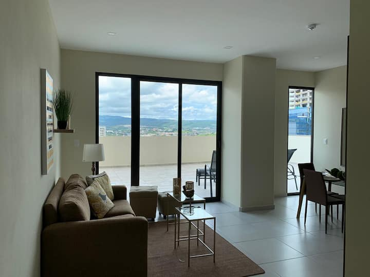 Centrally located peaceful and safe apartment