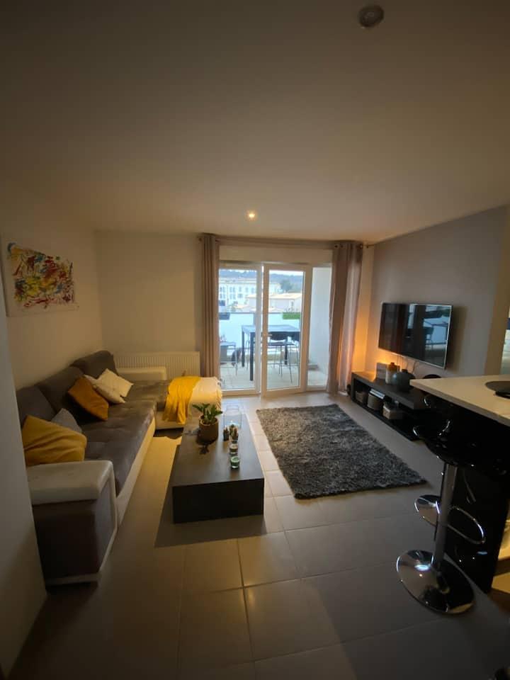 Appartement de 45 m2 neuf  résidence securisé