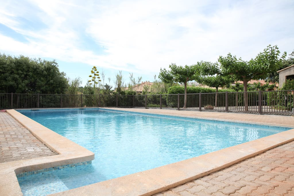 Grand t1 mer piscine hyeres appartements louer for Piscine hyeres