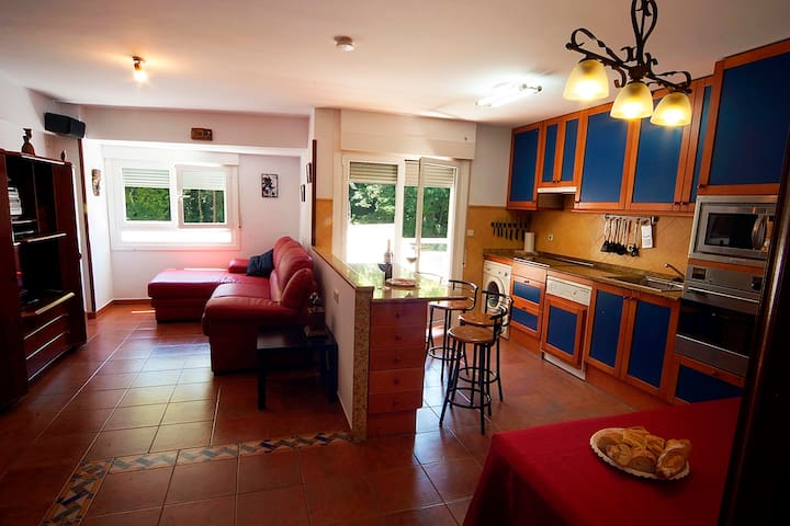 Basque Country, 112 m² flat close to beach