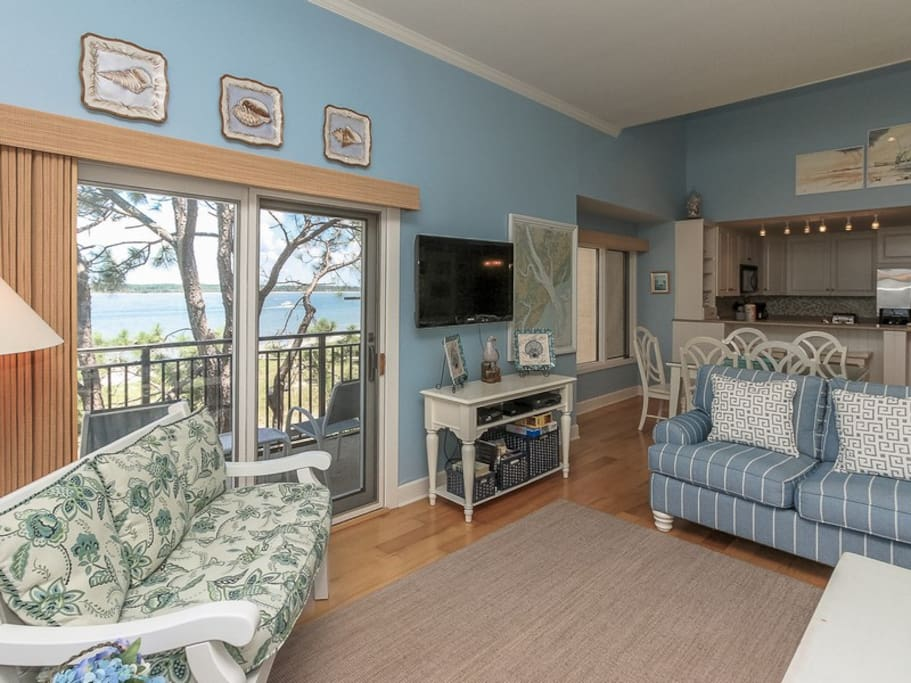 Open Floor Plan at 1883 Beachside Tennis