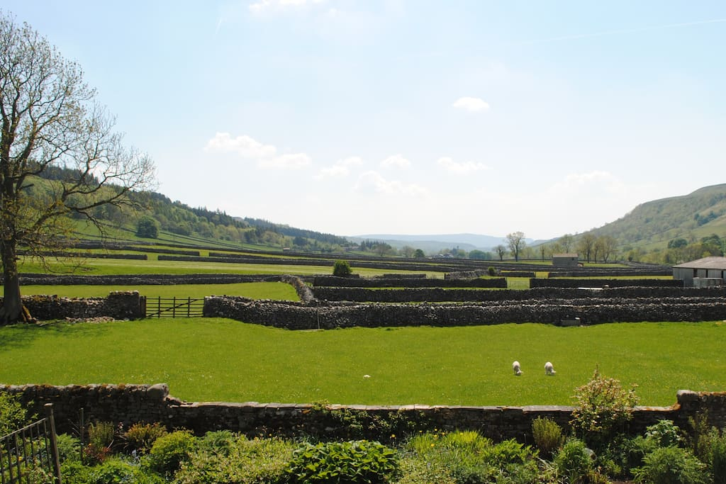 the view from Langcliffe House