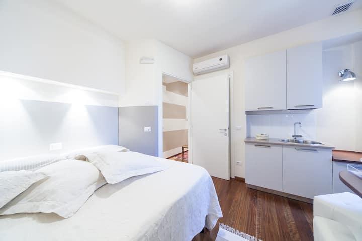 Palazzo Liberty in Centro1 - Bedroom&Bath