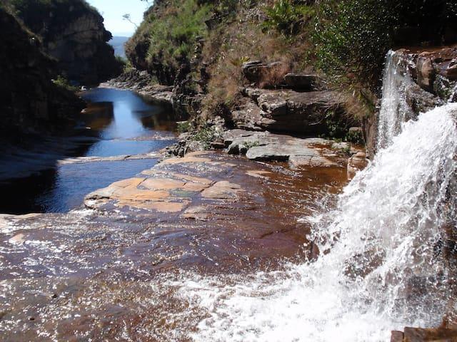 Casa cerca cachoeira do tabuleiro - Conceição do Mato Dentro - Apartment