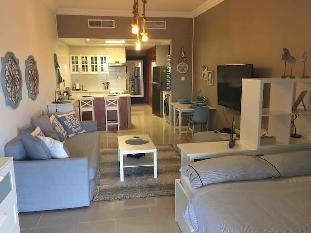 Amazing fully furnished upgraded studio