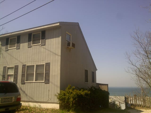 Ocean View House - Steps from Beach - Calverton - Hus