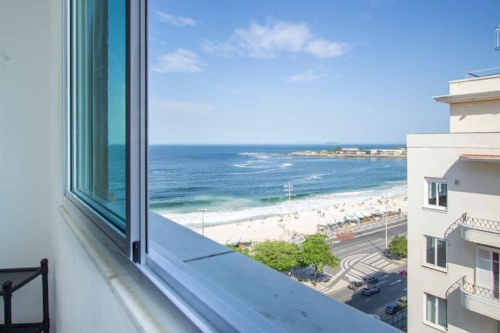 Studio Copacabana vista Mar!