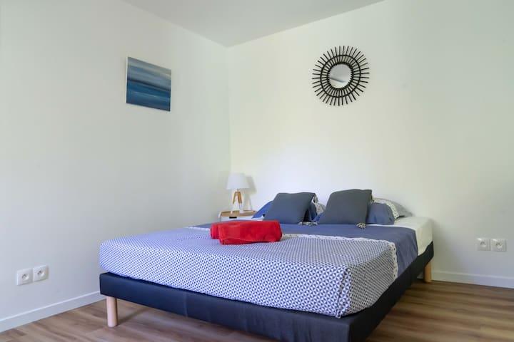 Chambre Lit 1m60