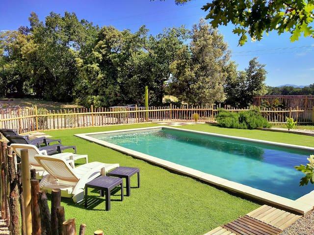 Agréable logement en Drôme provençale