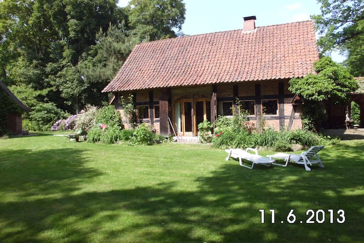 "Holiday house ""Hus an Moor"" - Hambergen - Huis"
