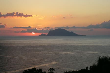 Eolian Islands, Casa della Palma  - Malfa - Villa