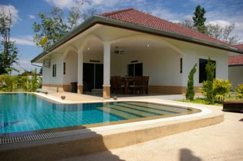 Thailand house with swimming pool