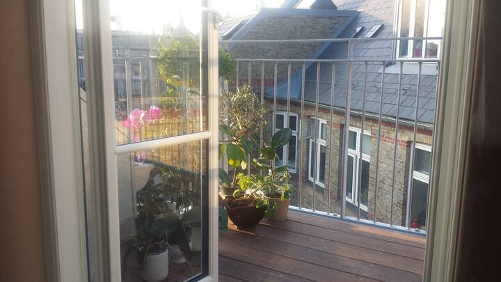 HIP Vesterbro Bed 'n Balcony in Cityきれい