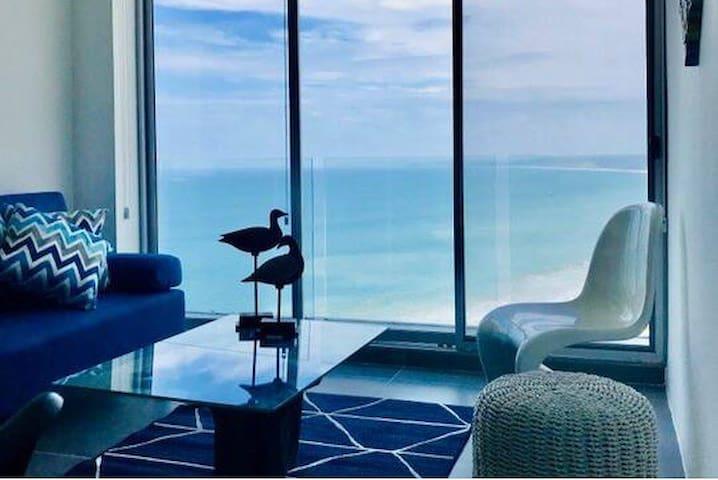 Hermosa suite con vista al mar, ideal para relax