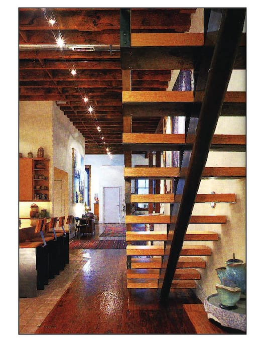 Spectacular penthouse loft parking appartements louer - Interieur design loft futuriste rado rick ...
