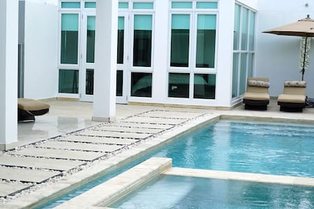 Modern Zen with Pool at Doorstep - Gurabo - Dom