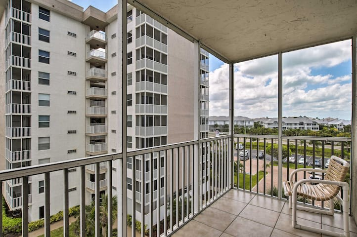 Ocean views greet you from the private balcony!
