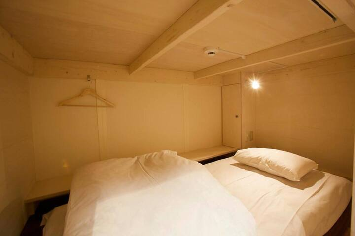 Guest house with hot spring ★Female dormitory