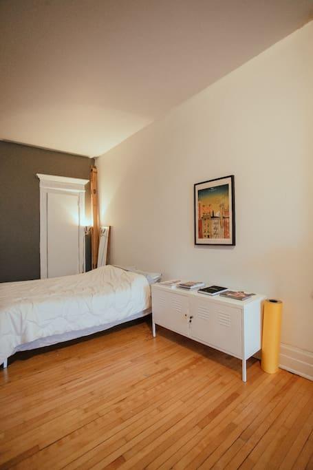 Vaste chambre au coeur du plateau Mont-Royal