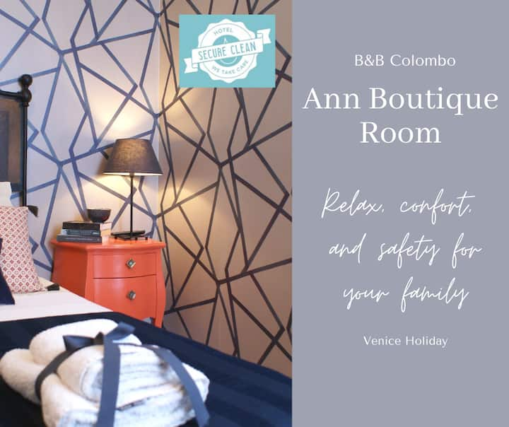 Ann Boutique room with breakfast