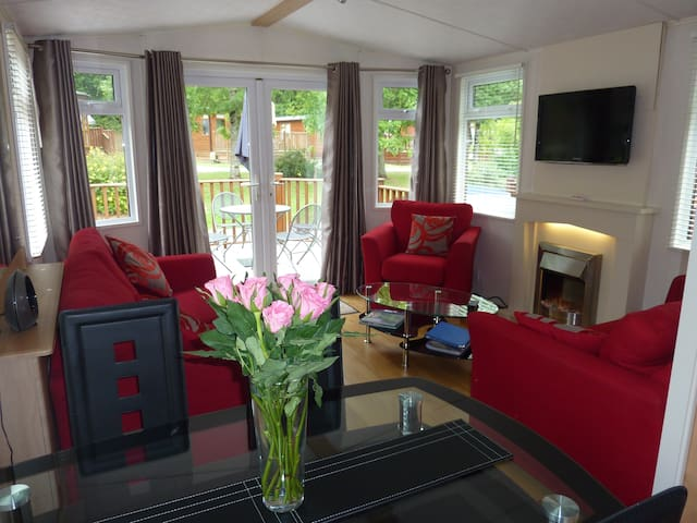 Luxury Holiday Lodge 5* - Chudleigh - Kulübe