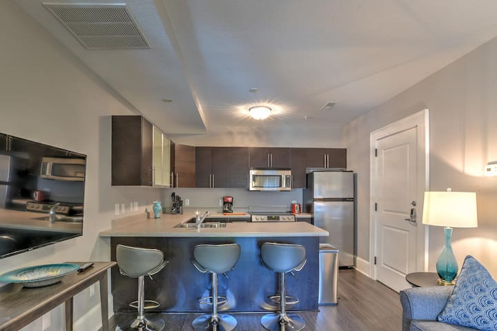 Charming, Newly Renovated 1 bdr/1 bath in Historic King James Building Unit #7