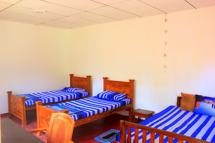 Single bed in Cottage Dormitory
